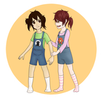 HM: Hold my hand [Collab] by Zwei-tan