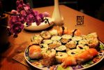 Sushi Feast No. 1 *^_^* by watermelon-riceball