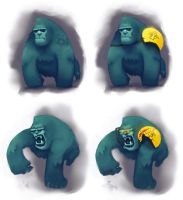Gorilla concept by loginatu