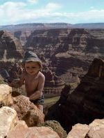 The boy and the canyon by ejkej0046