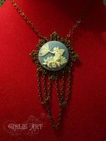 Fairy Angel Necklace by Girlie-Art