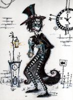 You're LATE for work! by Akyura44