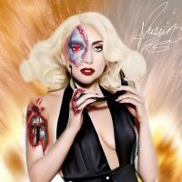 Digital drawing i made of ladygaga by justinpalmbeach