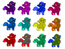 Horoscope/Homestuck Puppies -OPEN- by Twine-Adopts
