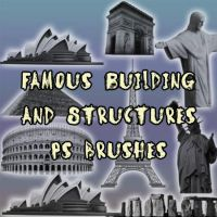 Famous Building and Structure Brushes by petermarge