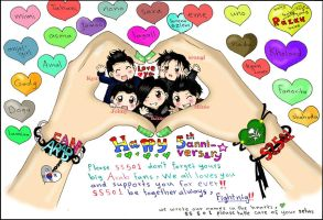 ss501 Arab fans by rose123321123