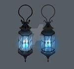 Ghosts Lantern - Design Art by DeadWolfGirl93