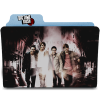 Big Time Rush Folder Icon by kndllalx