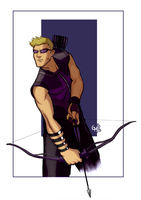 Hawkeye by hermit-homeboy