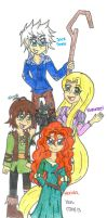 The Big Four by Nicktoons4ever