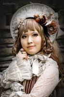 Antique Doll by harlyharlekin