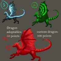 Batch 2 Neon Dragons 30 points each (or best offer by Ravenskysong