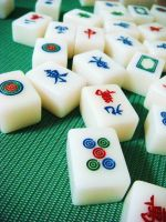 Mahjong Tiles by sabgian