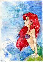 little mermaid by skyna