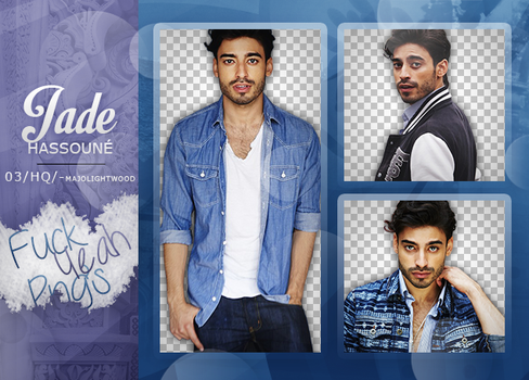 Pack Png: Jade Hassoune #329 by MockingjayResources