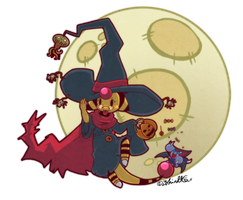 PKMNC - Halloween by TamarinFrog