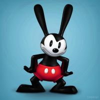 Oswald, Mickey Shorts by Hamilton74