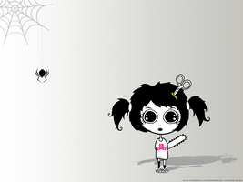 Tish hates spiders by Maquita
