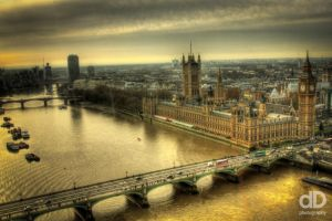 HDR London by dDoutsiopoulos