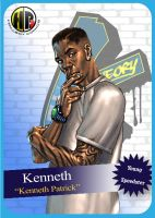 Kenneth Card by Hallspace