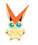 Victini - Macaron Victory Dance -Pokemon Animation by Queen-Of-Cute