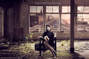 Girl in Cabin by VigarisT