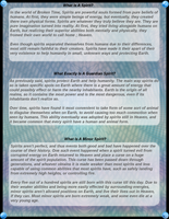 Spirits info sheet by Ocrienna