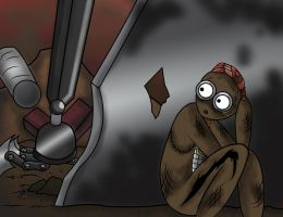 Escape From Spiny-9TSR by Piddies0709