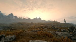 Landscape of Whiterun 27 by Marina17