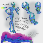 Jackal Reference Sheet by RoomsInTheWalls