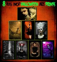 Halloween Print Set - Sale by asunder