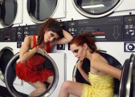 dirty Laundrettes by fae-photography