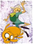 Adventure Time with Finn and Jake by DaveBardin