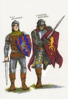 SOIAF bannermen sketches II by Tribemun
