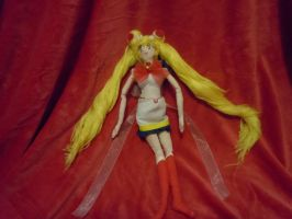 Sailor Moon SuperS Doll OOAK by Leah-Sharone