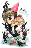 B.A.P 10 Daehyun birthday 2012 by syewe-yoss