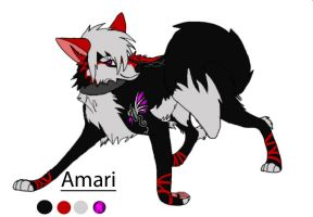 Amari ref sheet 2010 by Korclabael