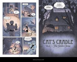Cat's Cradle: The Golden Twine pages 6-7 by jorioux