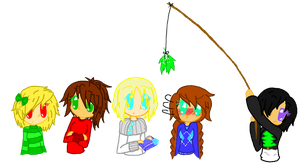 Ninjago GenderBend: Merry (late)Christmas by strawberrybunny4341