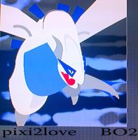 Lugia emblem! by Pixi2loves