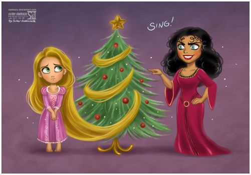 Tangled X-mas by daekazu