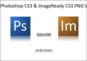 Photoshop and ImageReady CS3 by jordygreen