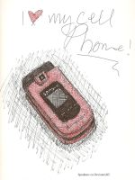 My cell phone by Spudnuts