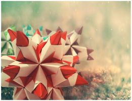Red Origami2 by thesilentphoenix89