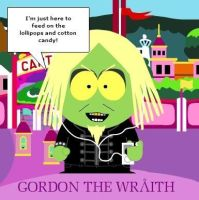 Gordon the 'South Park' Wraith by VelvetKevorkian333