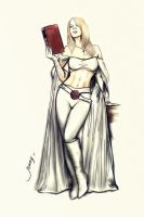 Emma Frost by suyeep