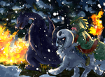 redraw- challenging the blizzard by summermon
