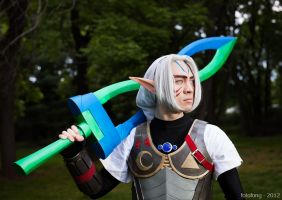 Fierce Deity Link Cosplay by leveledup