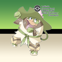 #64 Ludicolo (Joseon Form) by locomotive111