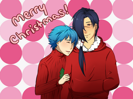 DMMd- KouAo Christmas by dbrloveless